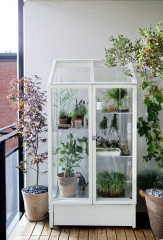 Balkon - Aranżacja ze szklarnią