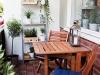 Aranżacje balkonów – małe przestrzenie