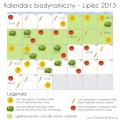 kalendarz biodynamiczny lipiec 2013
