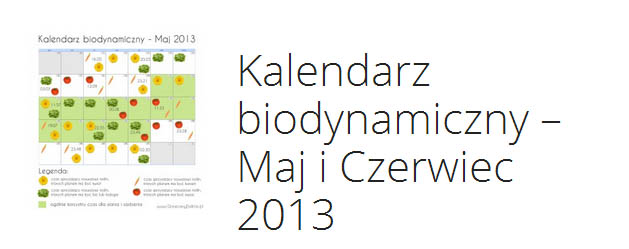 kalendarz biodynamiczny maj czerwiec