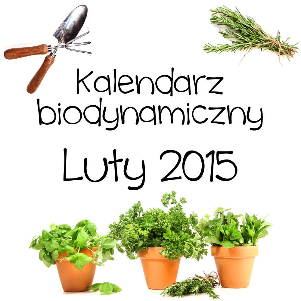 Kalendarz biodynamiczny – luty 2015