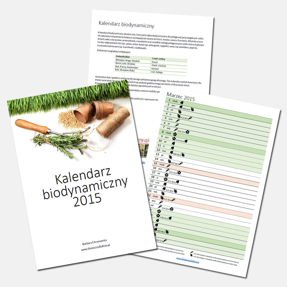 Kalendarz biodynamiczny (nie tylko) na marzec 2015